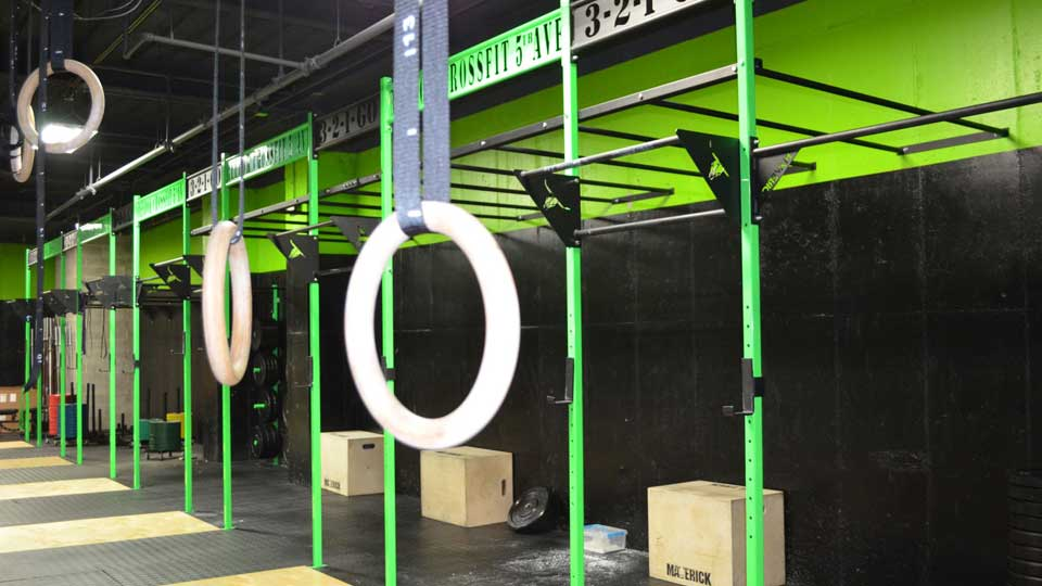 Personal Training Gym Midtown East Reebok CrossFit Fifth Ave 5