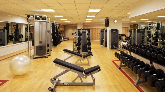 Personal Training Gym Midtown West Sheraton New York Fitness Center 1