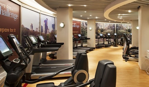 Personal Training Gym Midtown West Sheraton New York Fitness Center 2