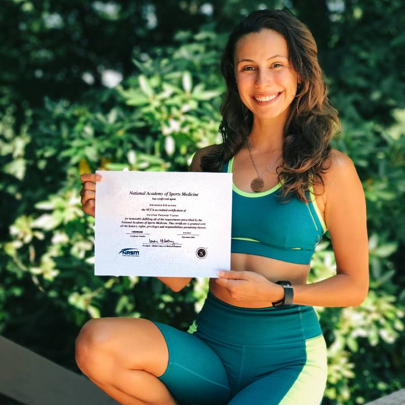 Trainer Alexandra Digiacomo profile picture